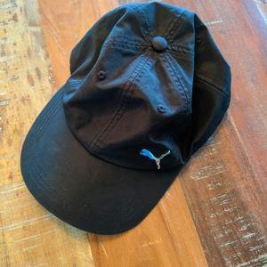 Puma Adjustable Black Lightweight Cap